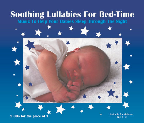 CD Soothing Lullabies For Bed-Time