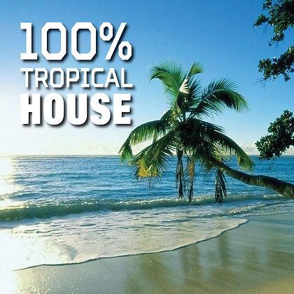 CD 100% Tropical House