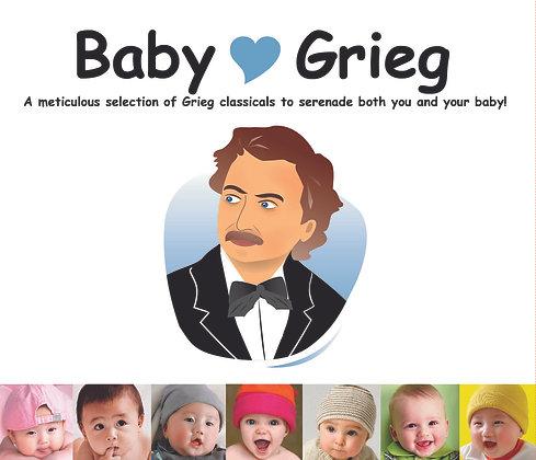 CD Baby Love Grieg