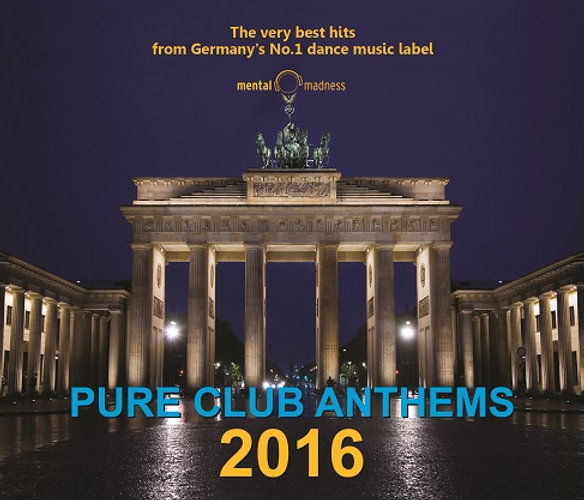 CD Pure Club Anthems 2016