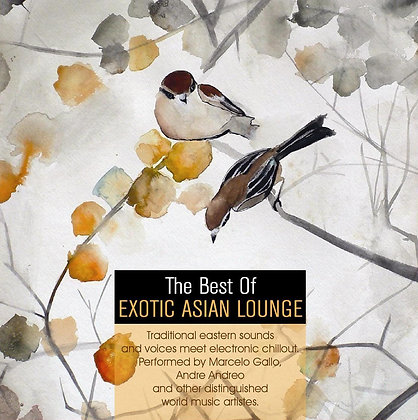 CD The Best Of Exotic Asian Lounge