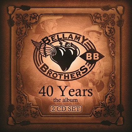 CD Bellamy Brothers, 40 Years The Album