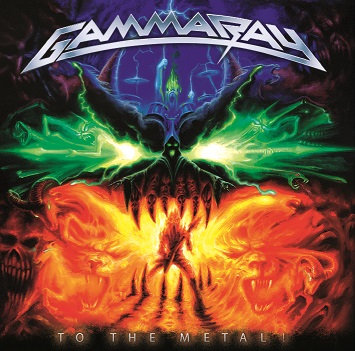 CD Gamma Ray ‎– To The Metal!