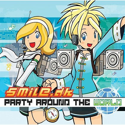 CD Smile.dk - Party Around The World