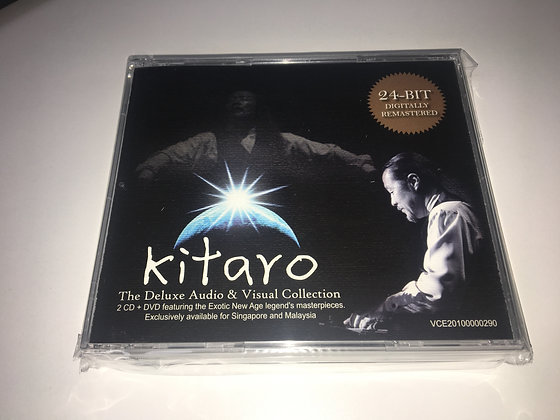 CD Kitaro - The Deluxe Audio & Visual Collection (2CD + DVD)