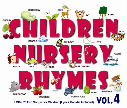 CD Children Nursery Rhymes Vol.4