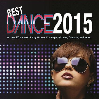CD Best Dance 2015 Vol 1