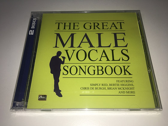 CD The Great Male Vocals Songbook