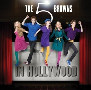 CD The 5 Browns In Hollywood