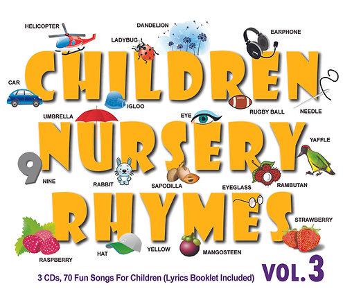 CD Children Nursery Rhymes Vol.3