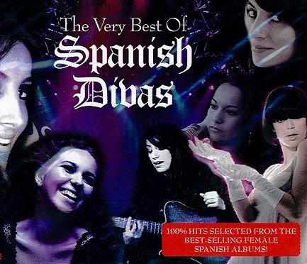 CD The Very Best Of Spanish Divas