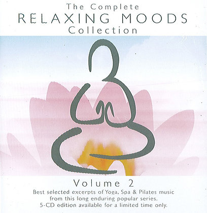 CD The Complete Relaxing Moods Collection vol.2 (5CDs)