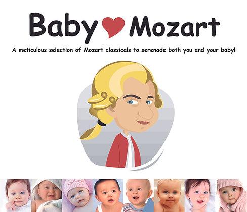 CD Baby Love Mozart