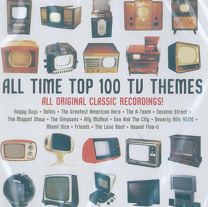 CD All Time Top 100 TV Themes