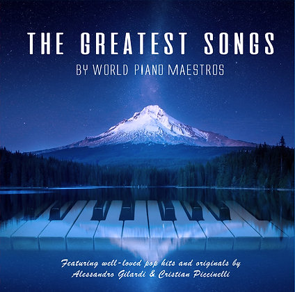 CD The Greatest Songs by World Piano Maestros