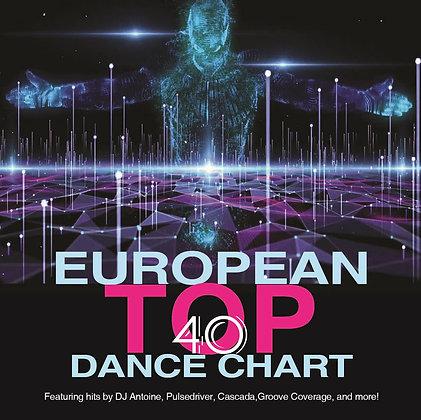 CD European Top 40 Dance Chart