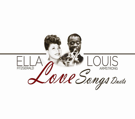 CD Ella Fitzgerald & Louis Armstrong - Love Songs