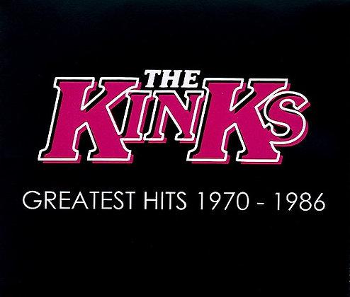 CD The Kinks - Greatest Hits 1970 - 1986