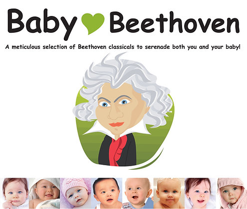 CD Baby Love Beethoven