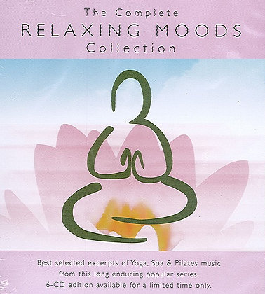 CD The Complete Relaxing Moods Collection