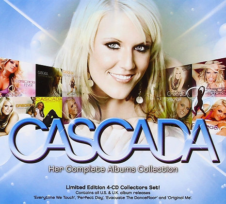 CD Cascada - Her Complete Albums Collection