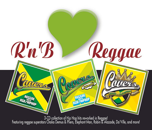 CD R&B Love Reggae