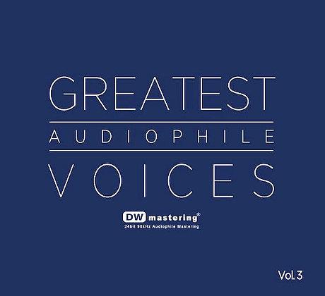 CD Greatest Audiophile Voices Vol.3