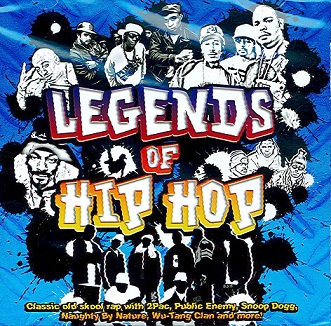 CD Legends of Hip Hop