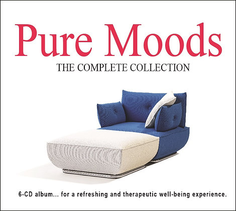 CD Pure Moods, The Complete Collection (6 CDs)