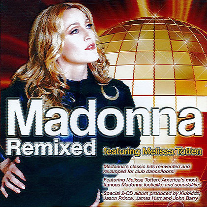 CD Madonna Remixed