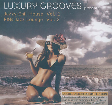 CD Luxury Grooves - Jazzy Chill House Vol.2