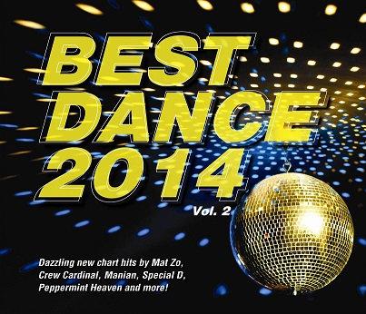 CD Best Dance 2014 Vol. 2