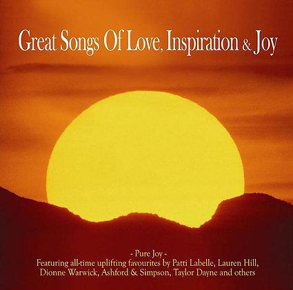CD Great Songs Of Love, Inspiration & Joy