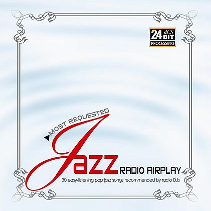CD Most Requested Jazz Radio Airplay