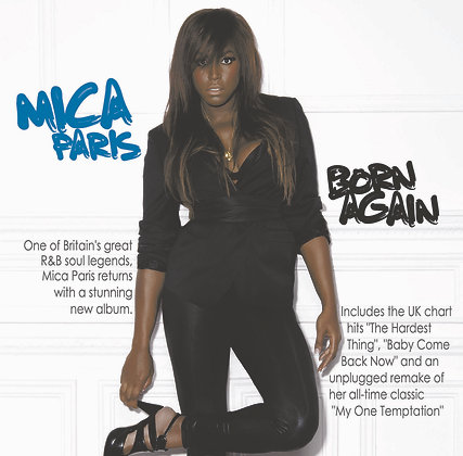 CD Mica Paris - Born Again