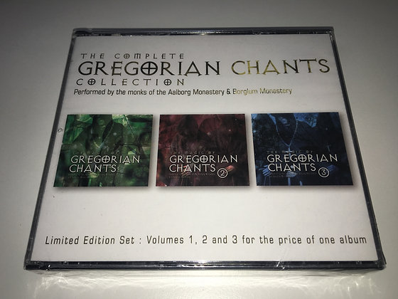 CD The Complete Gregorian Chants Collection