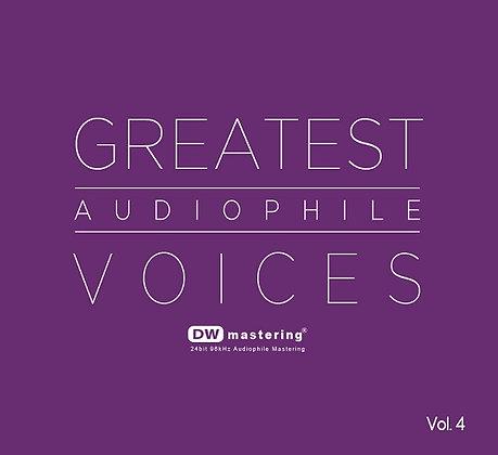 CD Greatest Audiophile Voices Vol.4