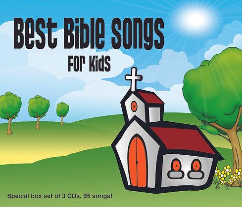 CD Best Bible Songs For Kids