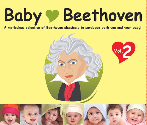 CD Baby Love Beethoven Vol. 2