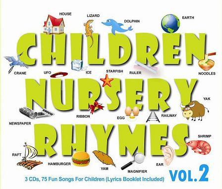 CD Children Nursery Rhymes Vol.2