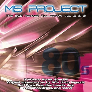 CD MS Project - The 80's Remixes Collection Vol 2 & Vol 3