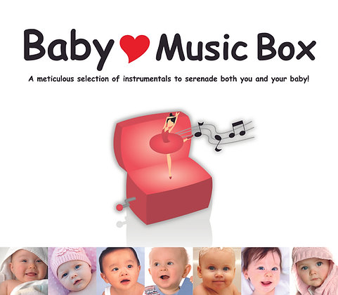 CD Baby Love Music Box