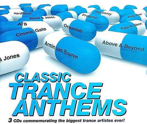 CD Classic Trance Anthems