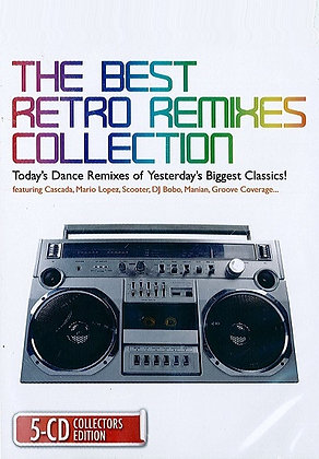 CD The Best Retro Remixes Collection