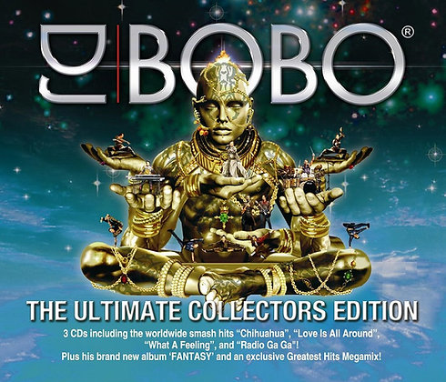 CD DJ Bobo - The Ultimate Collector's Edition