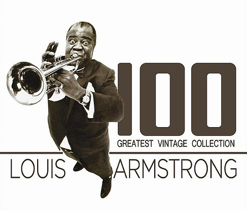 CD Louis Armstrong 100 Greatest Vintage Collection
