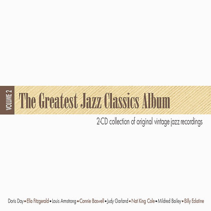 CD The Greatest Jazz Classics Album Vol.2