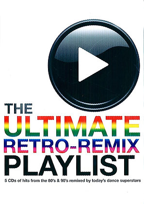 CD The Ultimate Retro-Remix Playlist