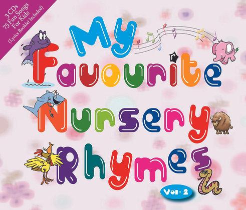 CD My Favourite Nursery Rhymes Vol. 2