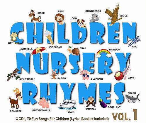 CD Children Nursery Rhymes Vol.1